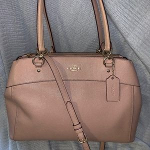 Coach Large Brooke Carryall Crossgrain Leather